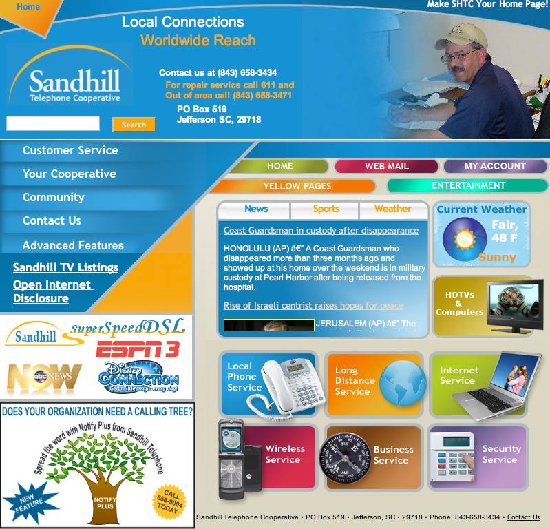 Rtg Welcomes Sandhill Telephone Cooperative Rural
